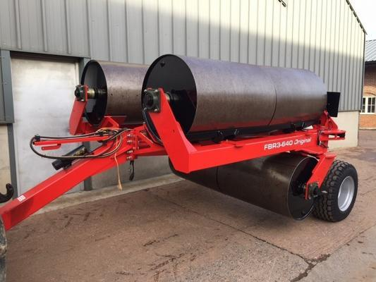 Twose FBR3-640 flat rollers