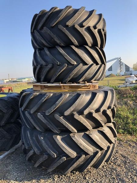 Michelin 650/65R42 + 600/65R28 Neu