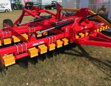 Lemtech Scheibenegge 4,5m/Hydraulically folding disc harrow with transport chassis/Борона/Brona talerzowa składana hydraulicznie z wózkiem