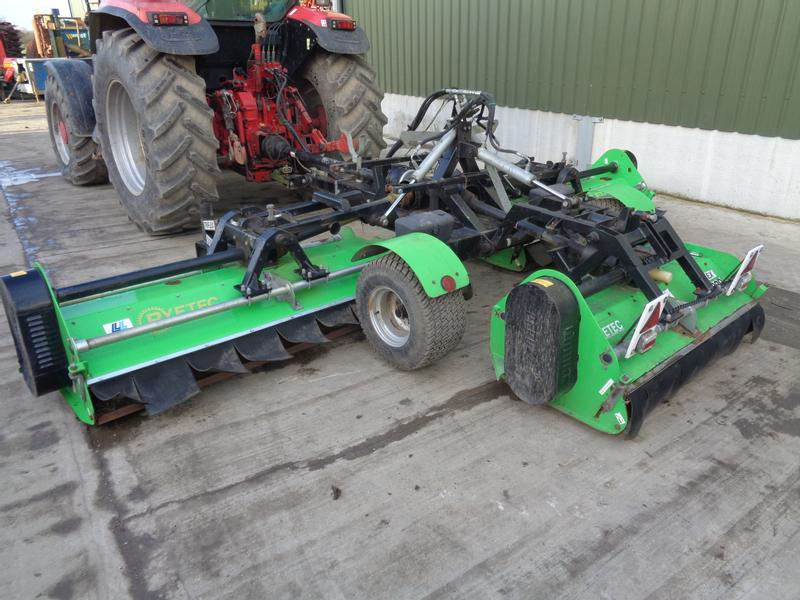 Ryetec Triflex 5000 Trailed Flail Mowers