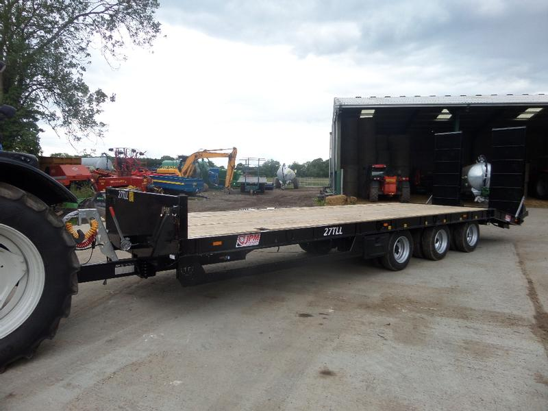 JPM 30FT TRI AXLE LOW LOADER TRAILER